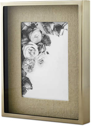 "Martha Stewart Collection Shadowbox Linen 5"" x 7"" Frame, Created for Macy's"