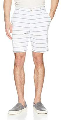 Nautica Men's Classic Fit Flat Front Stretch Chino Deck Short