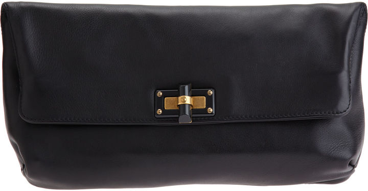Lanvin Pop Pouchette - Black