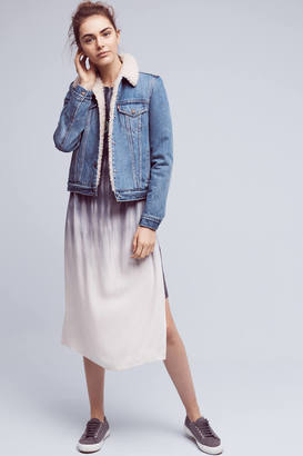 Levi's Denim Sherpa Jacket $148 thestylecure.com