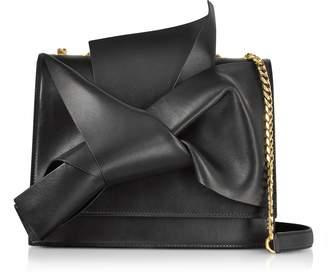 N°21 Nappa Leather Large Bow Bag w/Shoulder Strap