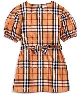 Burberry Girls' Thelma Vintage Check Dress - Little Kid, Big Kid