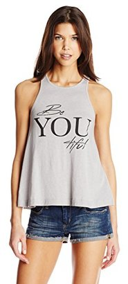 Element Junior's Be You Racerback Graphic Tank $24 thestylecure.com