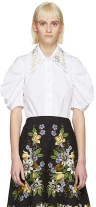 Erdem White Ria Shirt
