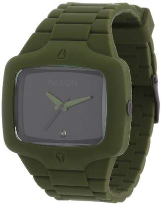 Nixon Men's Quartz Rubber and Polyurethane Casual Watch