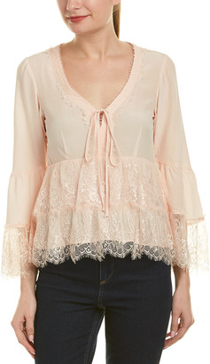 703edc535193ca Nanette Lepore Pink Women s Tops - ShopStyle