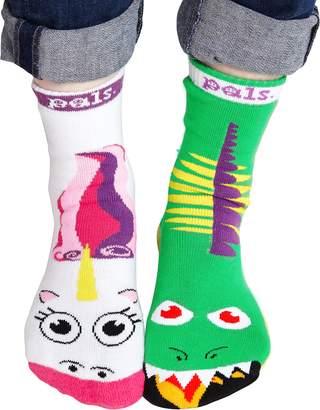Dragon Optical Pals Socks PS-18 Womens & Unicorn Socks