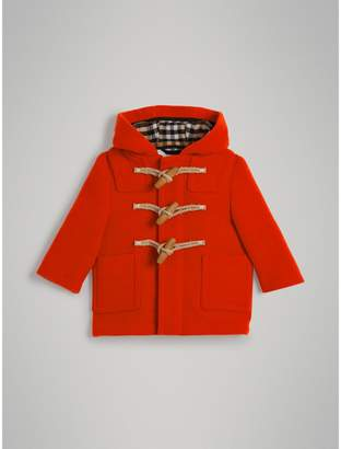 Burberry Childrens Boiled Wool Duffle Coat