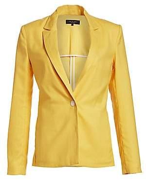 Rag & Bone Women's Bonnie One-Button Blazer - Size 0