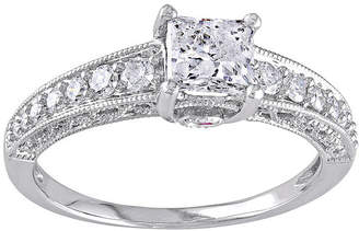 MODERN BRIDE Diamond & Color-Enhanced Pink Sapphire Ring