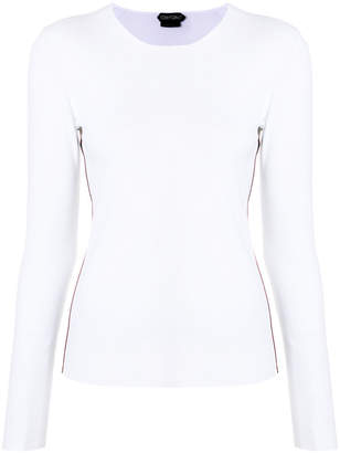 Tom Ford fitted round neck shirt