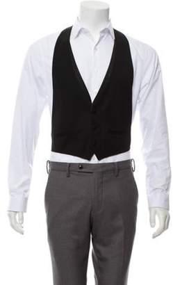 aa890c495 Mens Wool Button Vest - ShopStyle