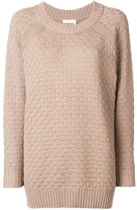 See by Chloe rear button-down sweater