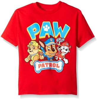 Nickelodeon Paw Patrol Little Boys' Toddler Short Sleeve T-Shirt