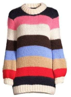 Ganni Julliard Mohair Wool Sweater
