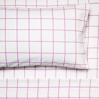 Hiccups Blanky Flannelette Sheet Set, Pink, Single