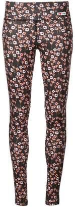 Giamba floral print leggings