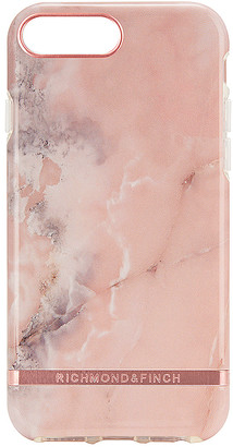 Richmond & Finch Pink Marble iPhone 6/7/8 Plus Case