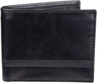 STAFFORD Stafford Extra Capacity Slimfold Wallet with Zipper