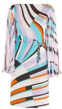 Emilio Pucci Jersey Marilyn Shell Print Dress