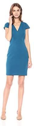 T Tahari Women's Elizabella Plush Knit Dress