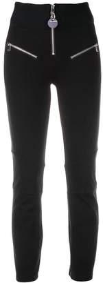 Diesel zip-detail skinny trousers