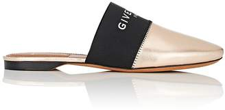 Givenchy Women's Bedford Metallic Leather Mules