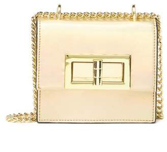 bbd5b96d680 Christian Siriano New York Laverne Micro Mini Faux Leather Crossbody Bag