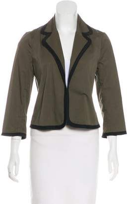 Marni Cropped Open-Front Jacket