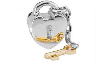 Pandora Key To My Heart 14K & Silver Charm