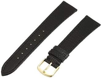 Hadley-Roma Men's MSM701RA-190 19-mm Genuine Lizard Leather Watch Strap