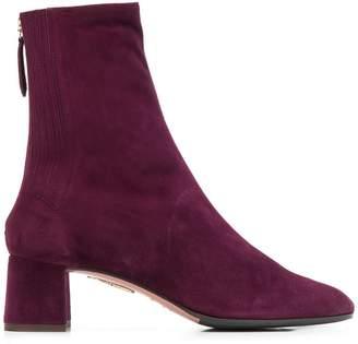 Aquazzura zipped up ankle boots