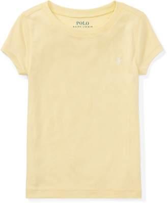 Ralph Lauren Cotton-Blend Crewneck T-Shirt