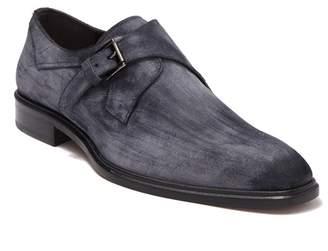 Mezlan Leather Monk Loafer