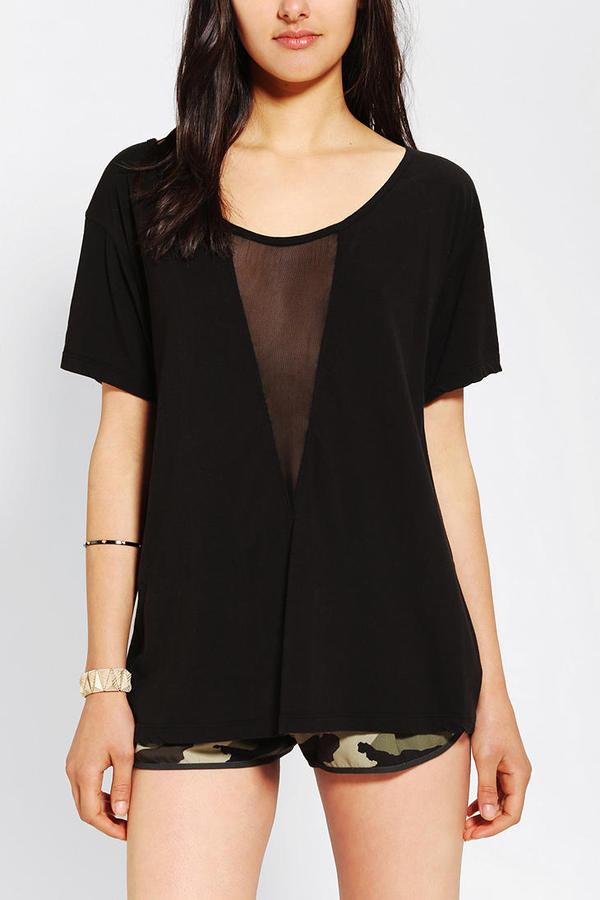 Truly Madly Deeply Mesh-Center Tee