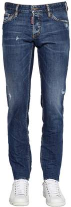 DSQUARED2 16.5cm Cool Guy Distressed Denim Jeans