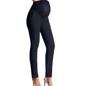 545ed62a959dd at Amazon Canada · Per Maternity Womens Pants Work Office Over-Bump Trousers