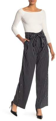 Rachel Roy Piper Striped Wide Leg Pants