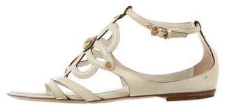 Louis Vuitton Fleur Patent Leather Sandals