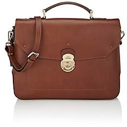 Boldrini Selleria Men's Top-Handle Briefcase - Lt. brown