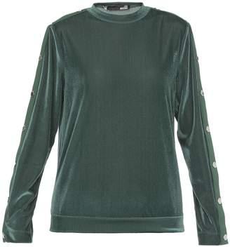 Love Moschino Velvet Sweater