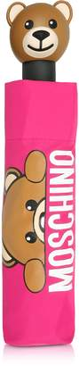 Moschino Hidden Teddy Bear Fuchsia Umbrella