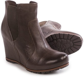 Kork-Ease Neville Wedge Ankle Boots - Leather (For Women) $89.99 thestylecure.com
