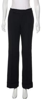 Marc Jacobs Wool Wide-Leg Pants Black Wool Wide-Leg Pants
