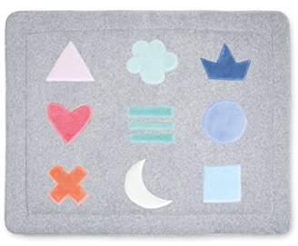 Camilla And Marc Bemini Play Mat, 100 x 100 cm, Softy Pixar Plum 90