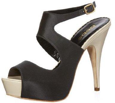 Stacia Platform Satin Sandals