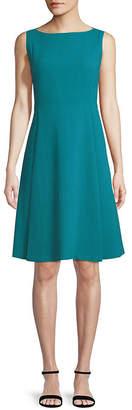 Lafayette 148 New York Nouveau Crepe Nina Wool Dress
