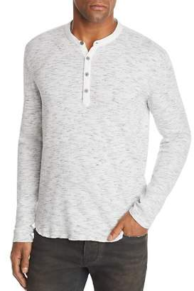 John Varvatos Space-Dyed Henley - 100% Exclusive