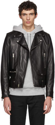 Saint Laurent Black L01 Moto Jacket