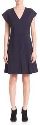 SET V-Neck A-Line Dress